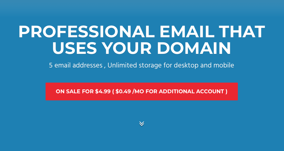 professional email address domain